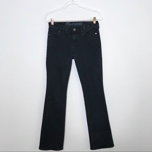 Madewell BootLegger Jeans Distressed Washed Look